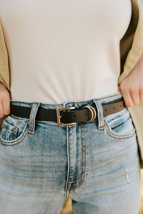 THE NEUTRAL LEATHER BELT TRIO