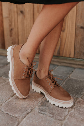 THE EDISON BOOT IN DARK CAMEL