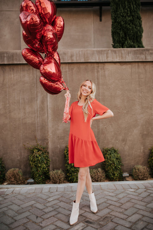 THE P.S. I LOVE YOU DRESS IN RED