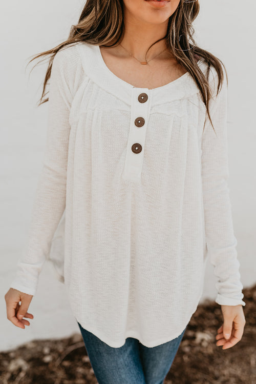 FREE PEOPLE MUST HAVE HENLY IN IVORY