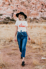 THE RED DESERT GRAPHIC TEE IN VINTAGE WHITE