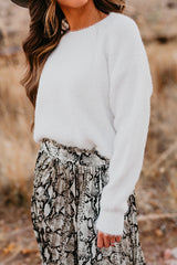 THE MERRY AND BRIGHT SWEATER IN IVORY