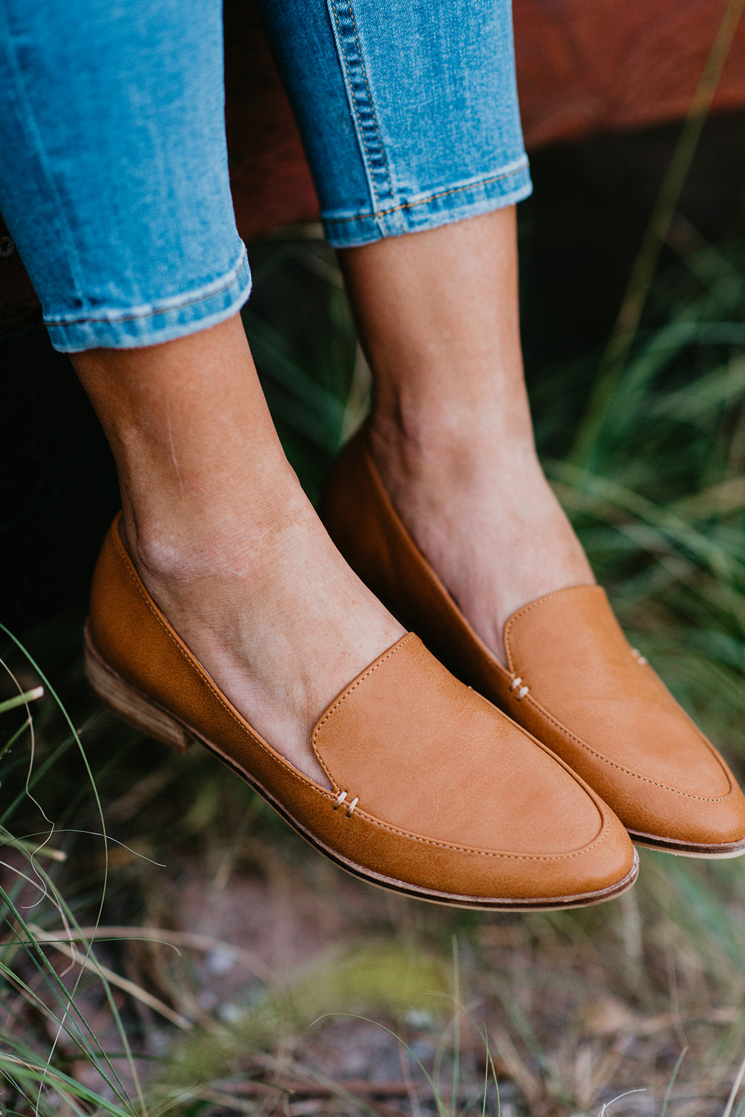 THE JORDAN LOAFER IN CAMEL