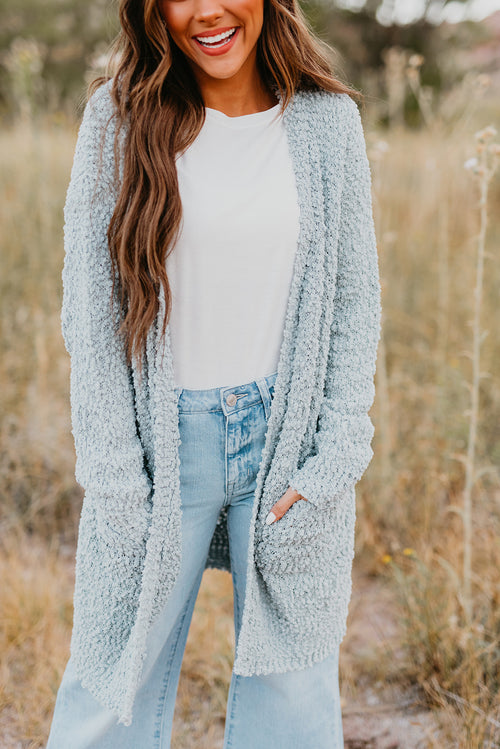 THE CELESTE CARDIGAN IN MINT