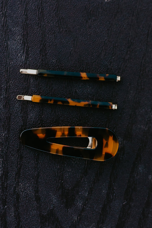THE TORTOISE SHELL HAIR PIECE SET