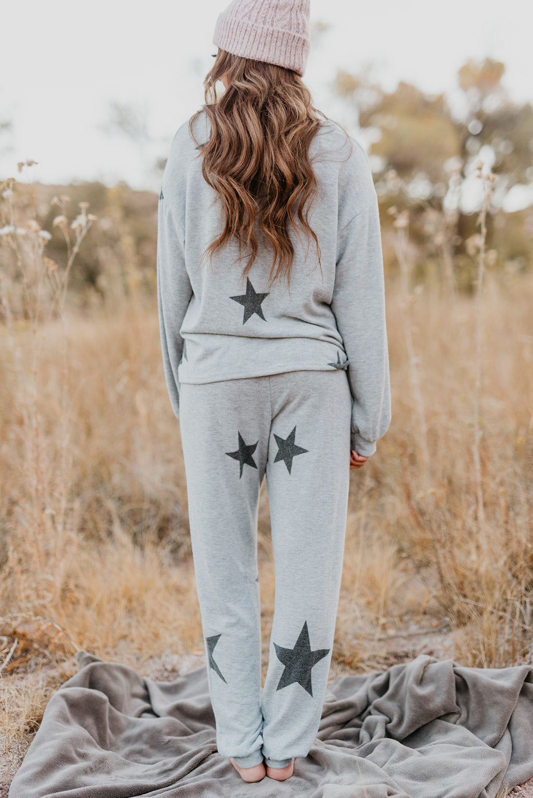 A STAR IS BORN JOGGER PANT IN HEATHER GREY