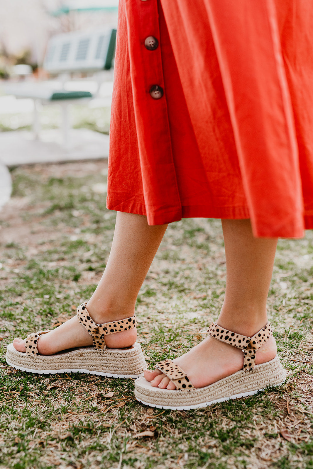 THE MYRA SANDALS IN LEOPARD BY DOLCE VITA