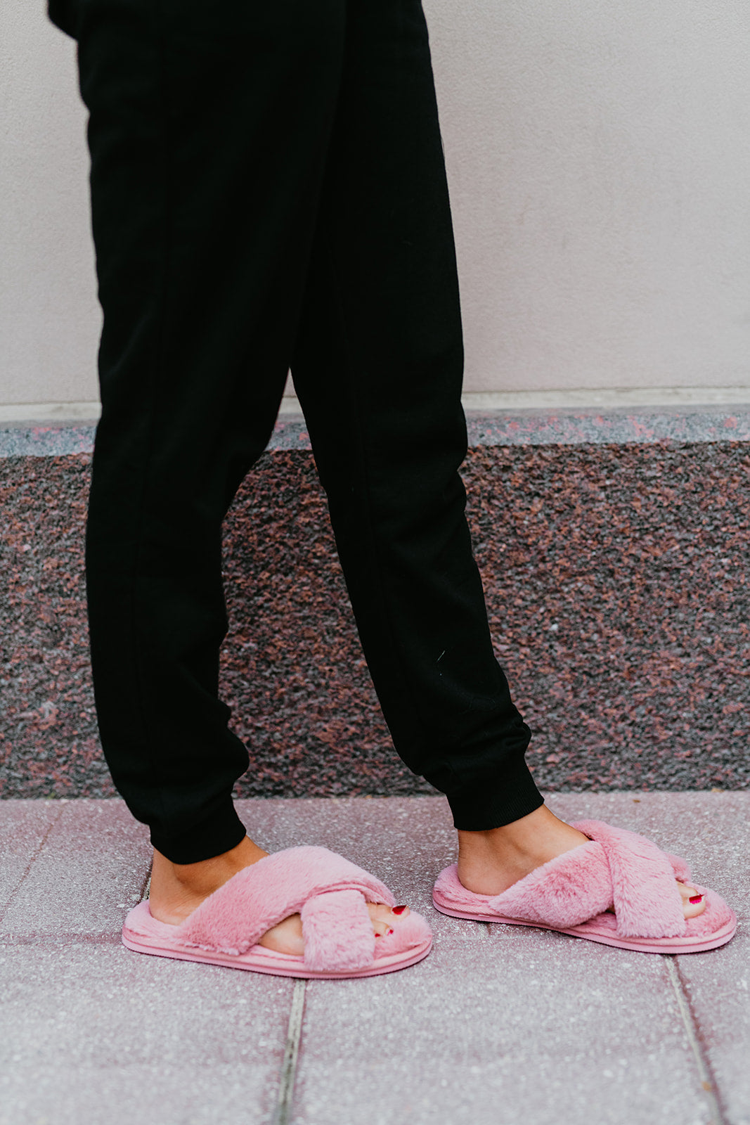 THE SYLVIA SLIPPERS IN PINK