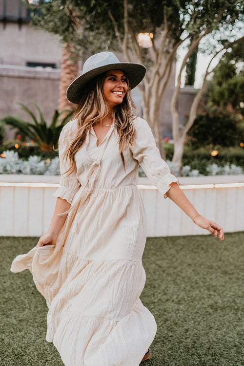 THE MALIBU MAXI IN NATURAL
