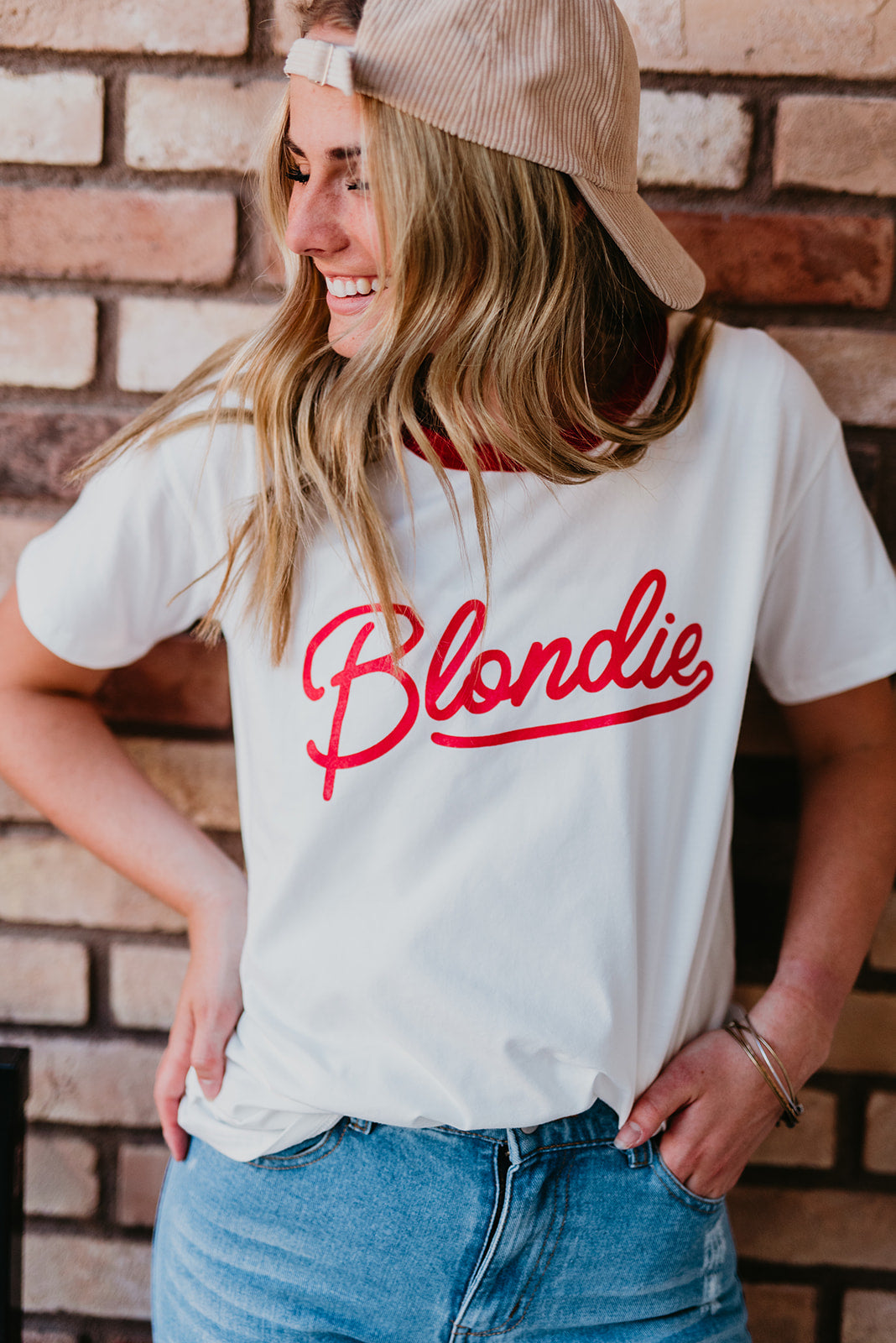 THE BLONDIE GRAPHIC TEE IN WHITE