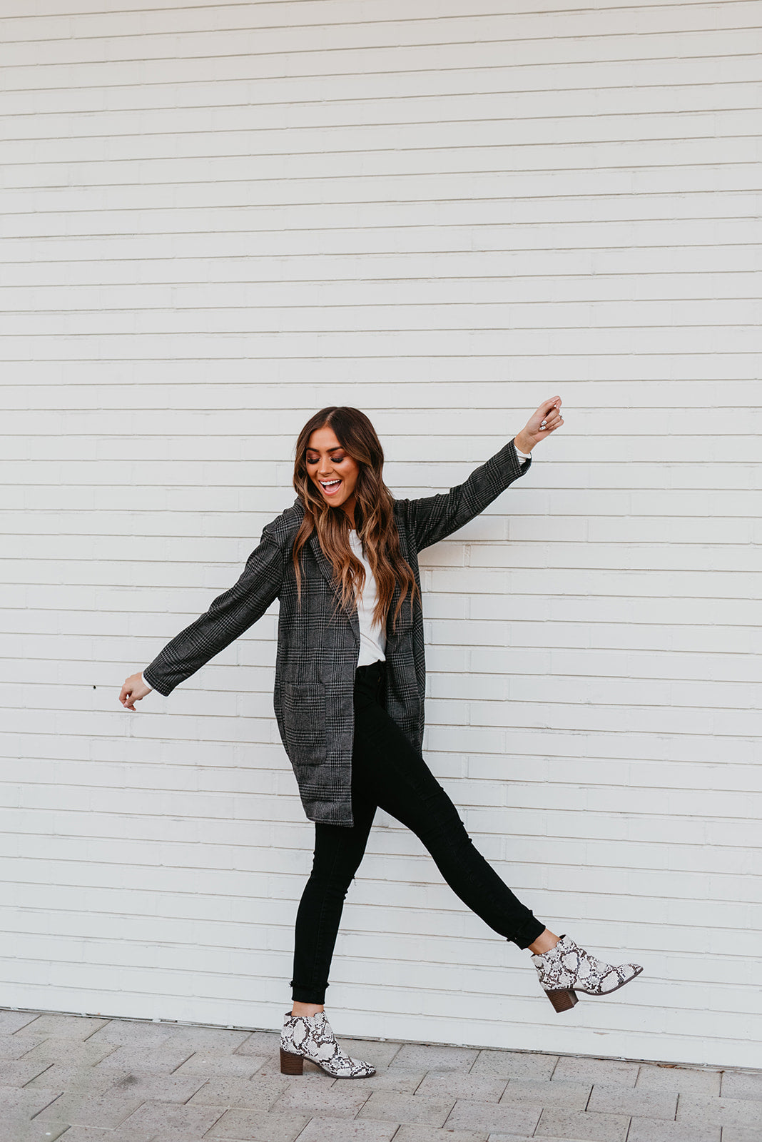 THE SHIRLEY PATTERN BLAZER IN BLACK