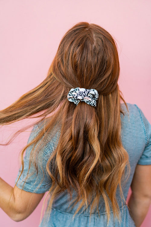 THE DUO SCRUNCHIE PACK IN BLACK AND PINK