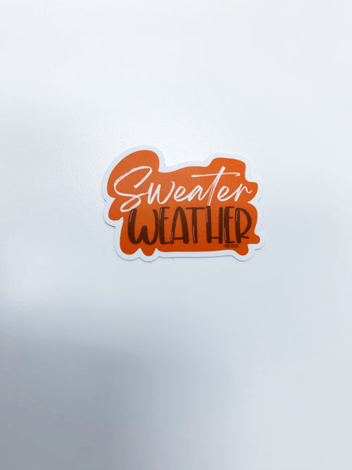 THE PINK DESERT SWEATER WEATHER STICKER