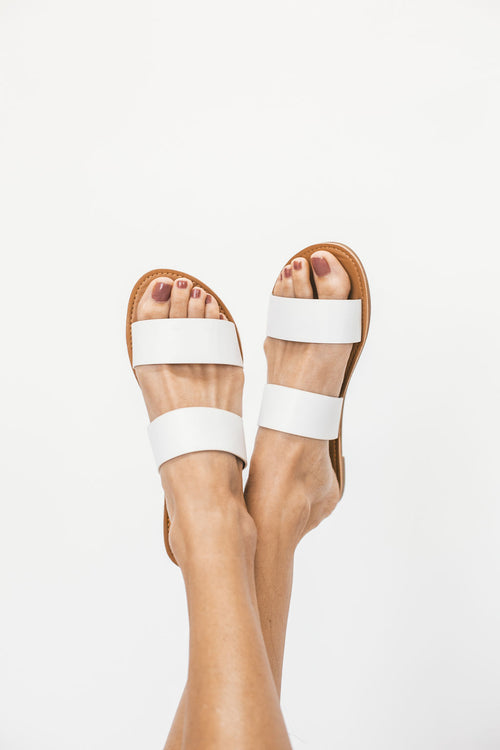 THE ATHENA SLIDE IN WHITE