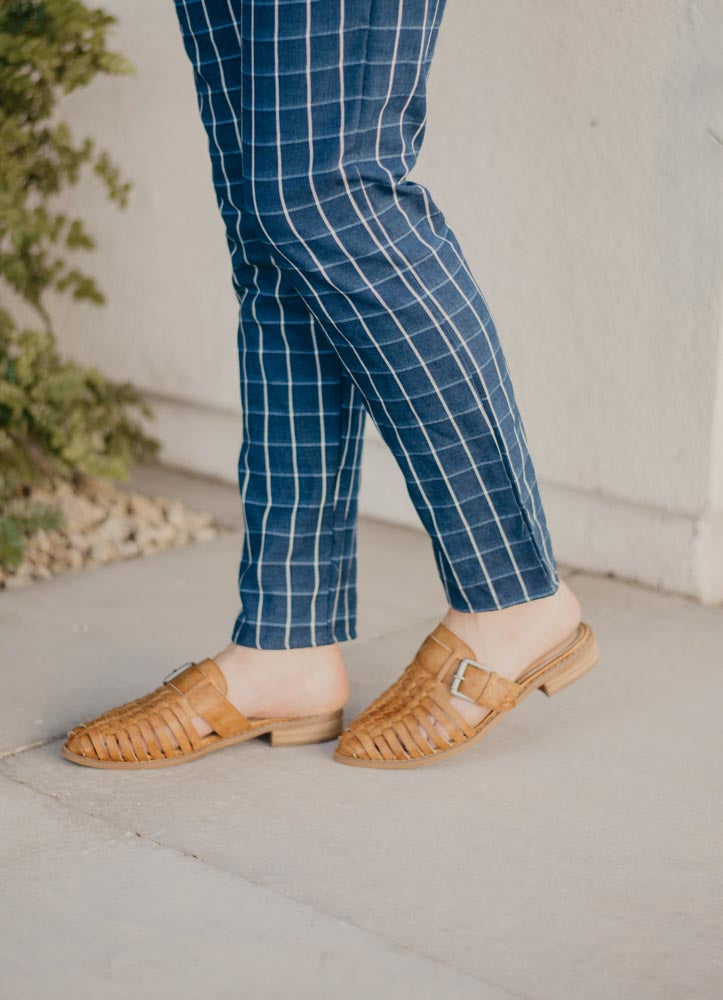 THE BILLIE LOAFER IN CAMEL