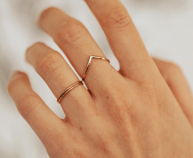 THE PEAK RING IN GOLD - MADE BY MARY