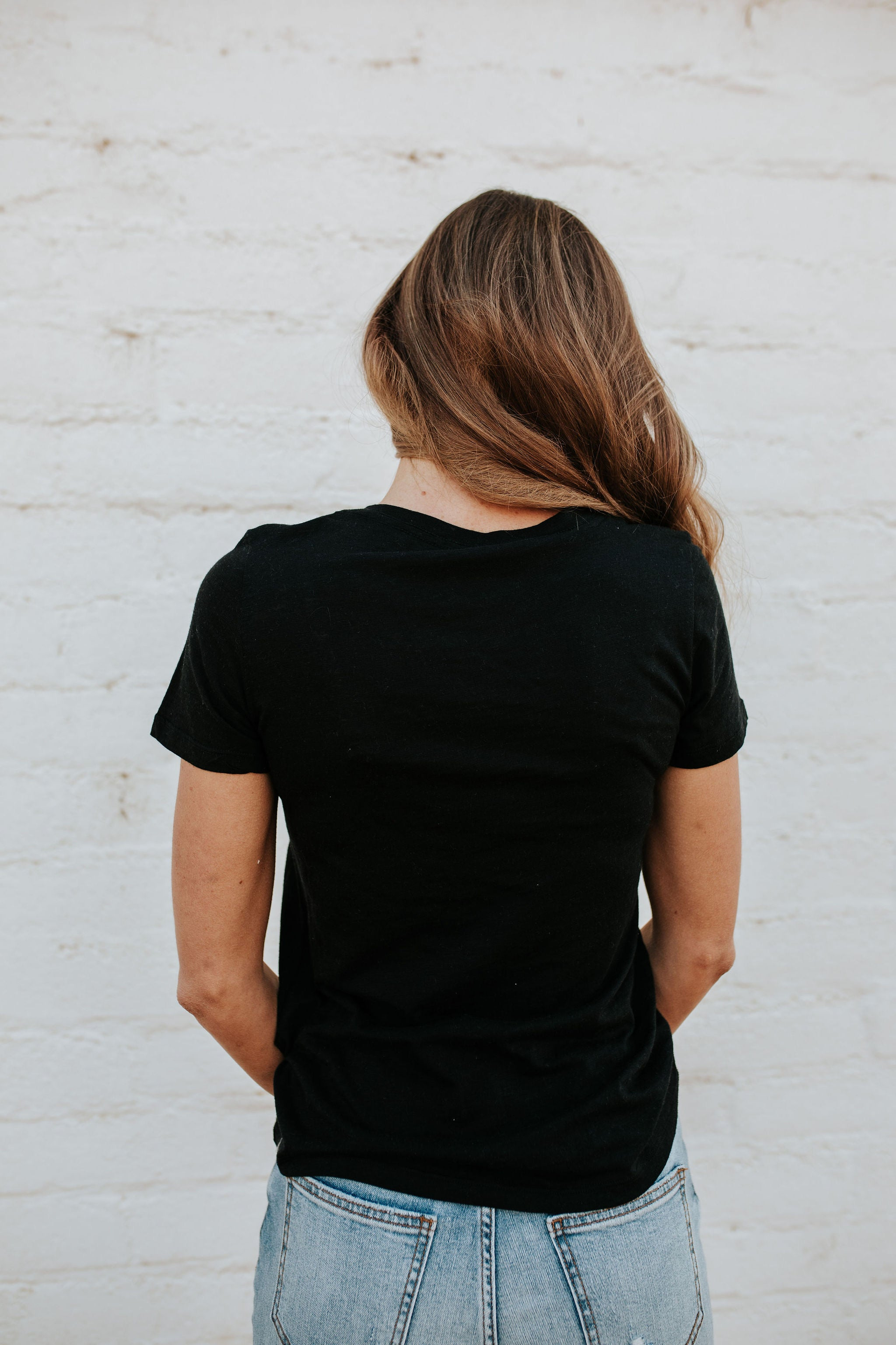 THE WILD WEST GRAPHIC TEE IN BLACK
