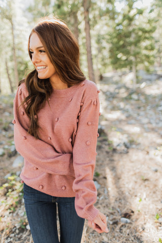 THE WOODLAND SWEATER IN PLUM