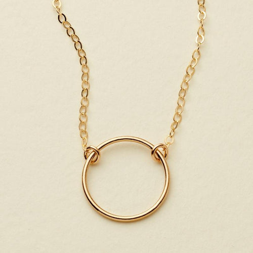 SOL NECKLACE - GOLD FILLED - MADE BY MARY