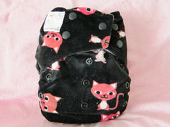 Kawaii Minky Bamboo Charcoal ONE SIZE