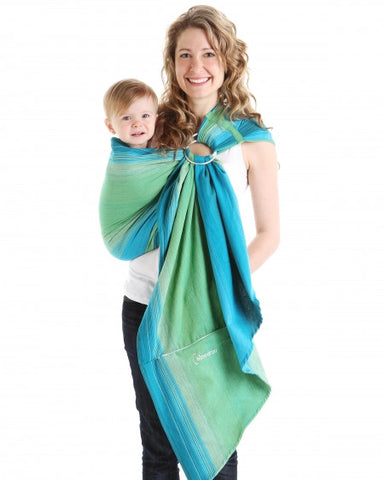 Porte-bébé Écharpe ajustable (Ring Sling) par Chimparoo - Lime