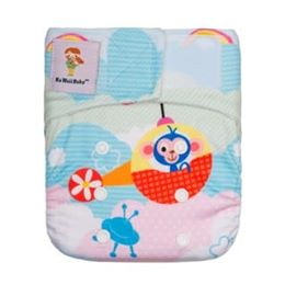 Couche à poche Kawaii Little Green Baby Bamboo - Nouveau-né
