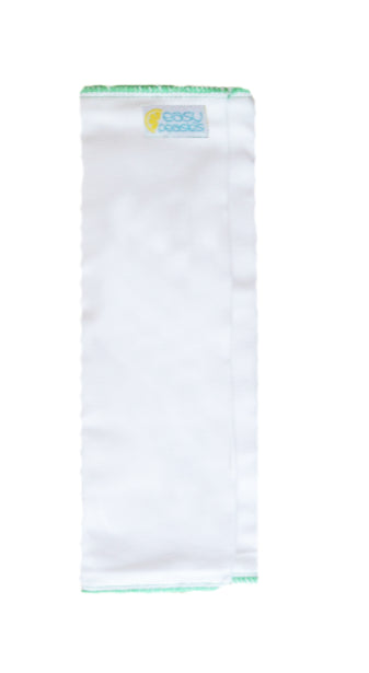 Easy Peasies insertion pliable (trifold) en coton