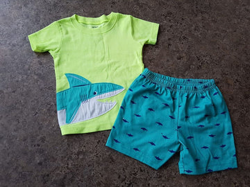 pyjama 3 pièces requins Carters 18 mois LLB163