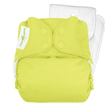 Couche à poche bumGenius 5.0 Original, Jolly- Le Chaton Vert Couches lavables - 10
