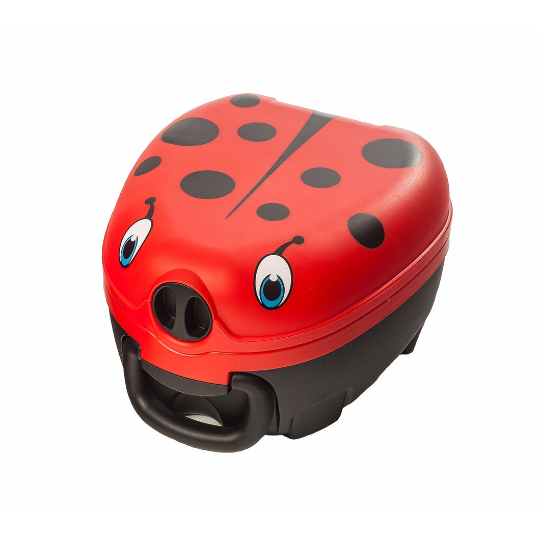 Petit pot portatif par My Carry Potty - Coccinelle