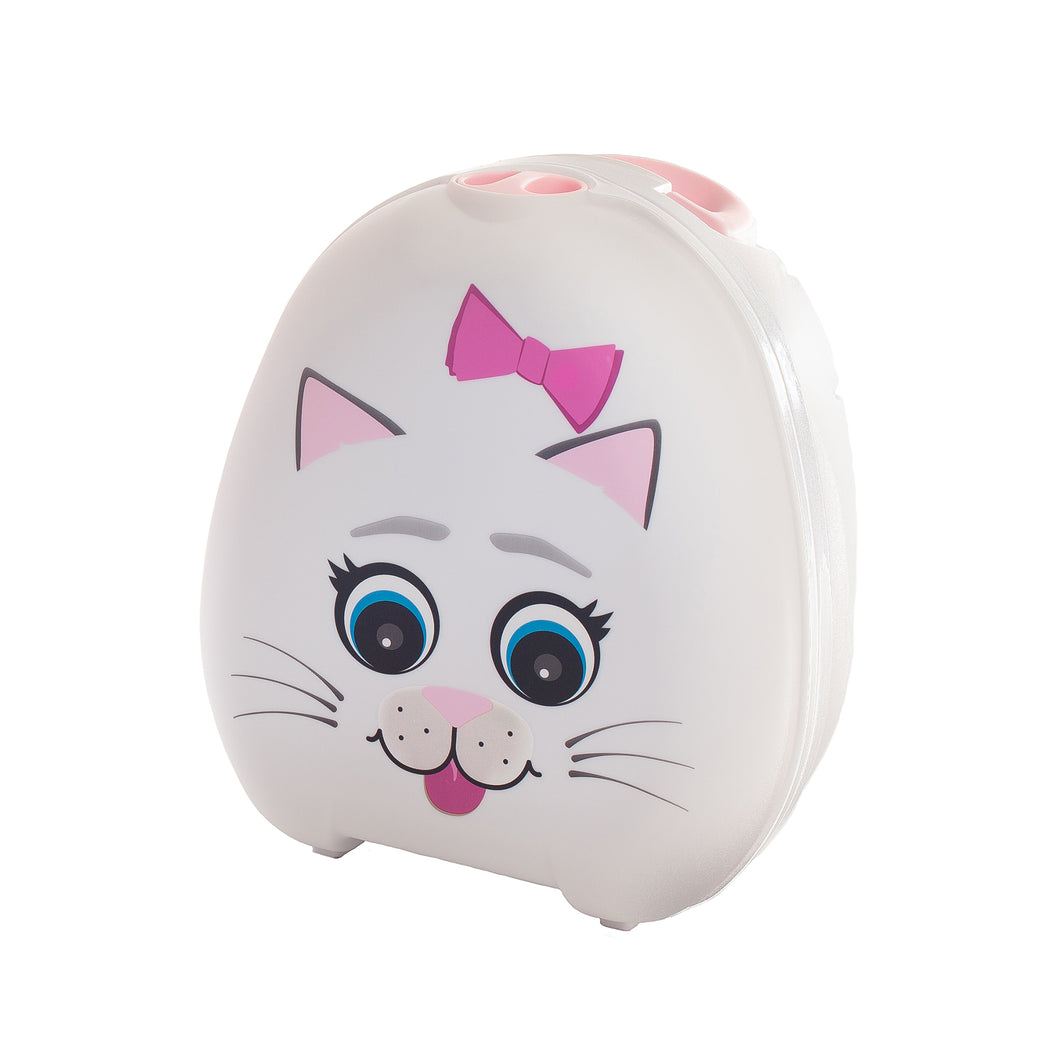 Petit pot portatif par My Carry Potty - Chat