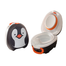 Charger l'image dans la galerie, Petit pot portatif par My Carry Potty - Pingouin