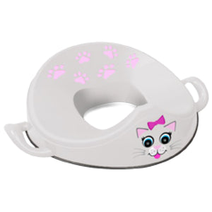 Petit siège de toilette portatif My Little Trainer Seat par My Carry Potty - Cat