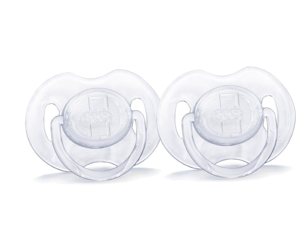 Philips AVENT - Suces translucides paquet de 2, 0-6 mois