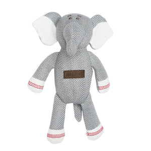 Rattle Elephant Driftwood Grey - Collection Cottage par Juddlies
