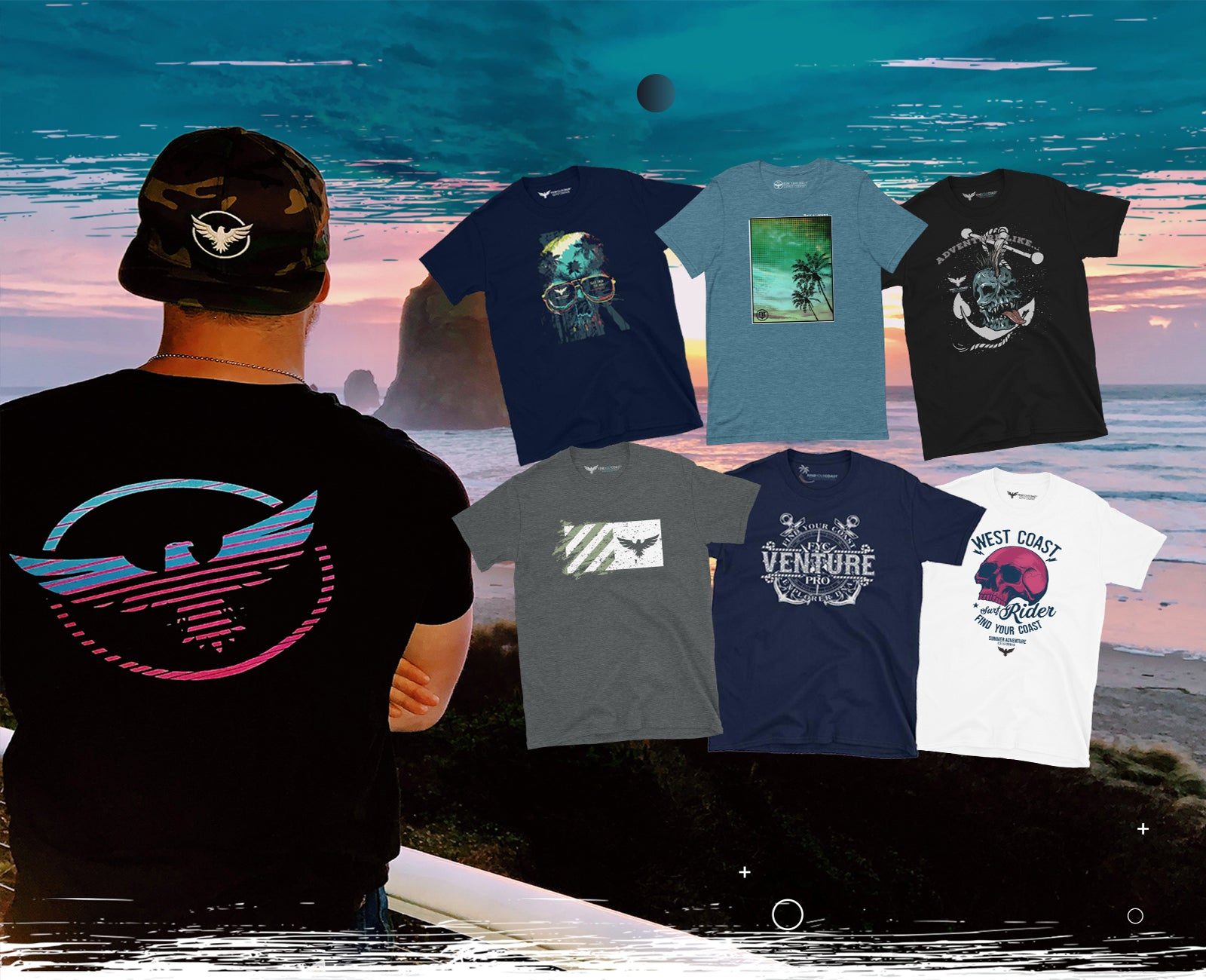 Find Your Coast Tee Shirts
