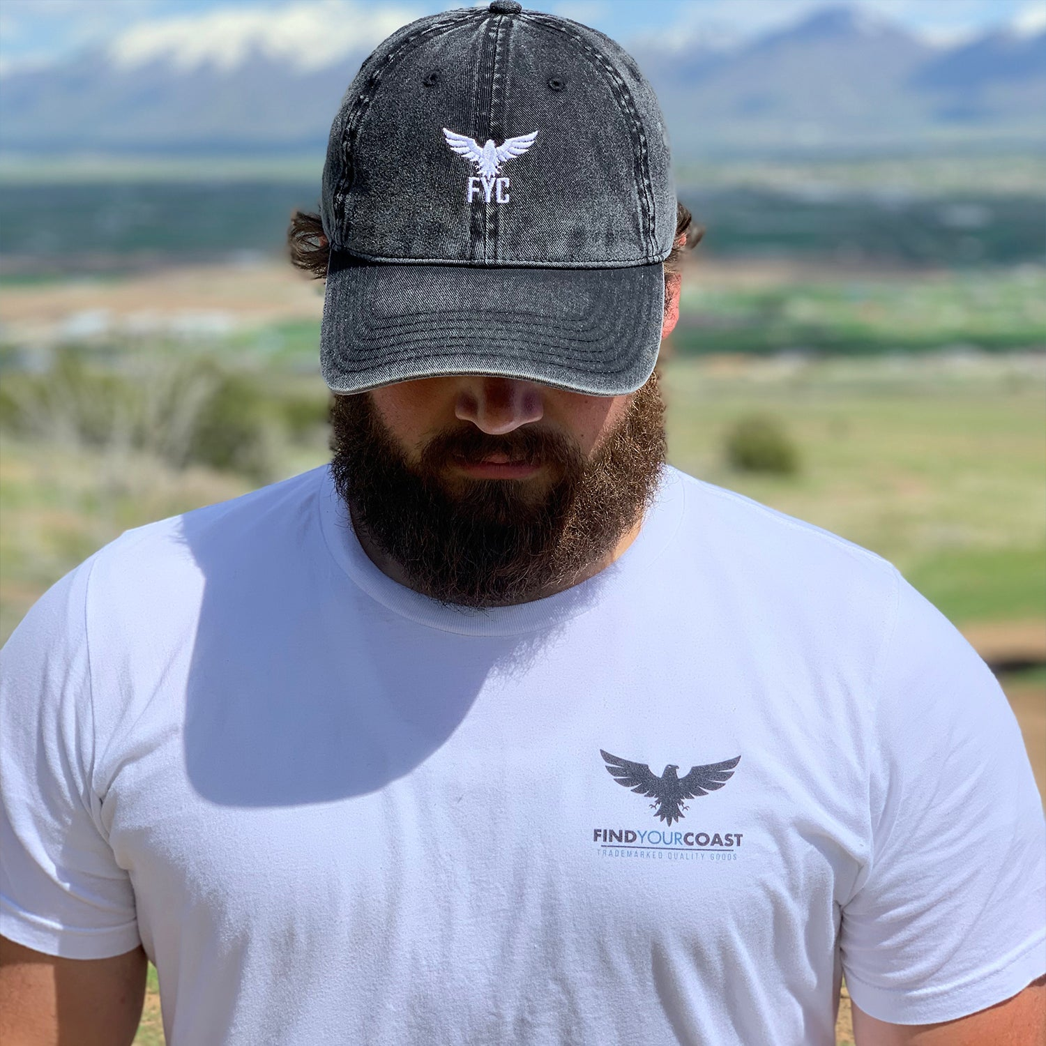 Find Your Coast outdoors shirts hats