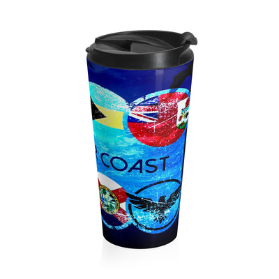 Destinations Stainless Steel Travel Mug - Find Your Coast Brand
