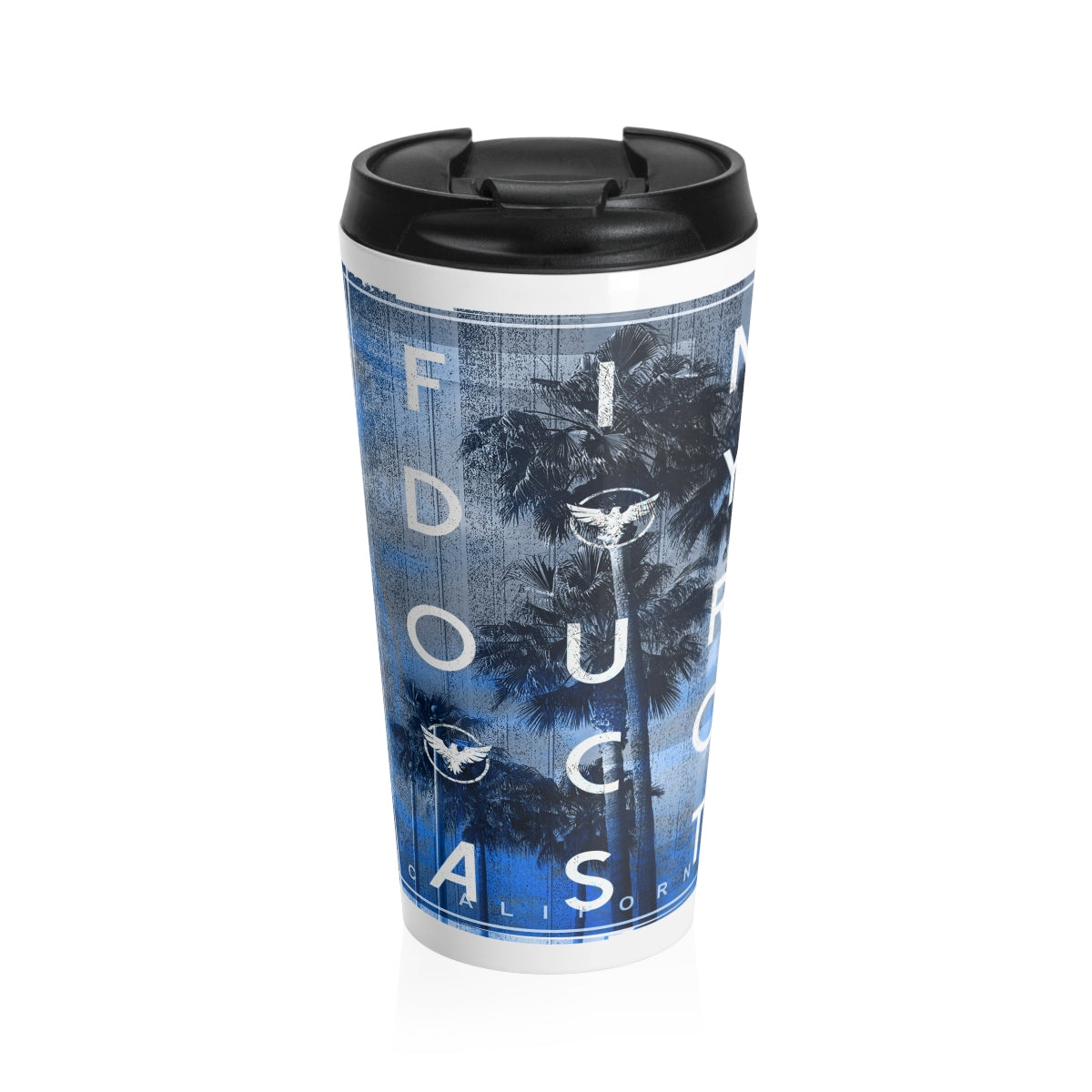 Explorer DNA Stainless Steel Travel Mug - Find Your Coast Brand