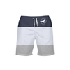 Men's Find Your Coast Classic Striped Beach Shorts UPF 40+ w/Lining - Find Your Coast Supply Co.