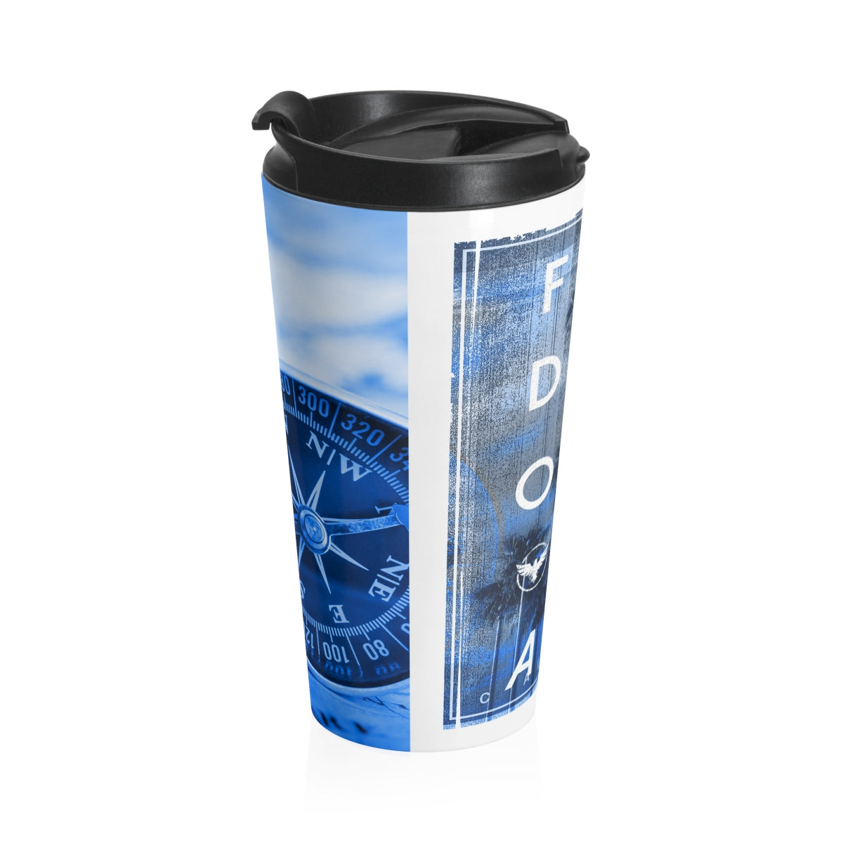Explorer DNA Stainless Steel Travel Mug - Find Your Coast Supply Co.