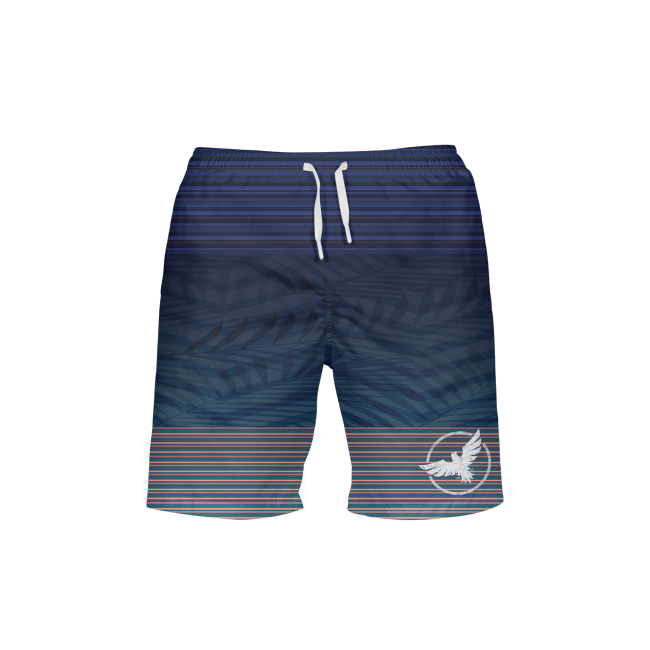 Men's Supply Co. Adventure Stripe Beach Shorts UPF 40+ w/Lining - Find Your Coast Supply Co.