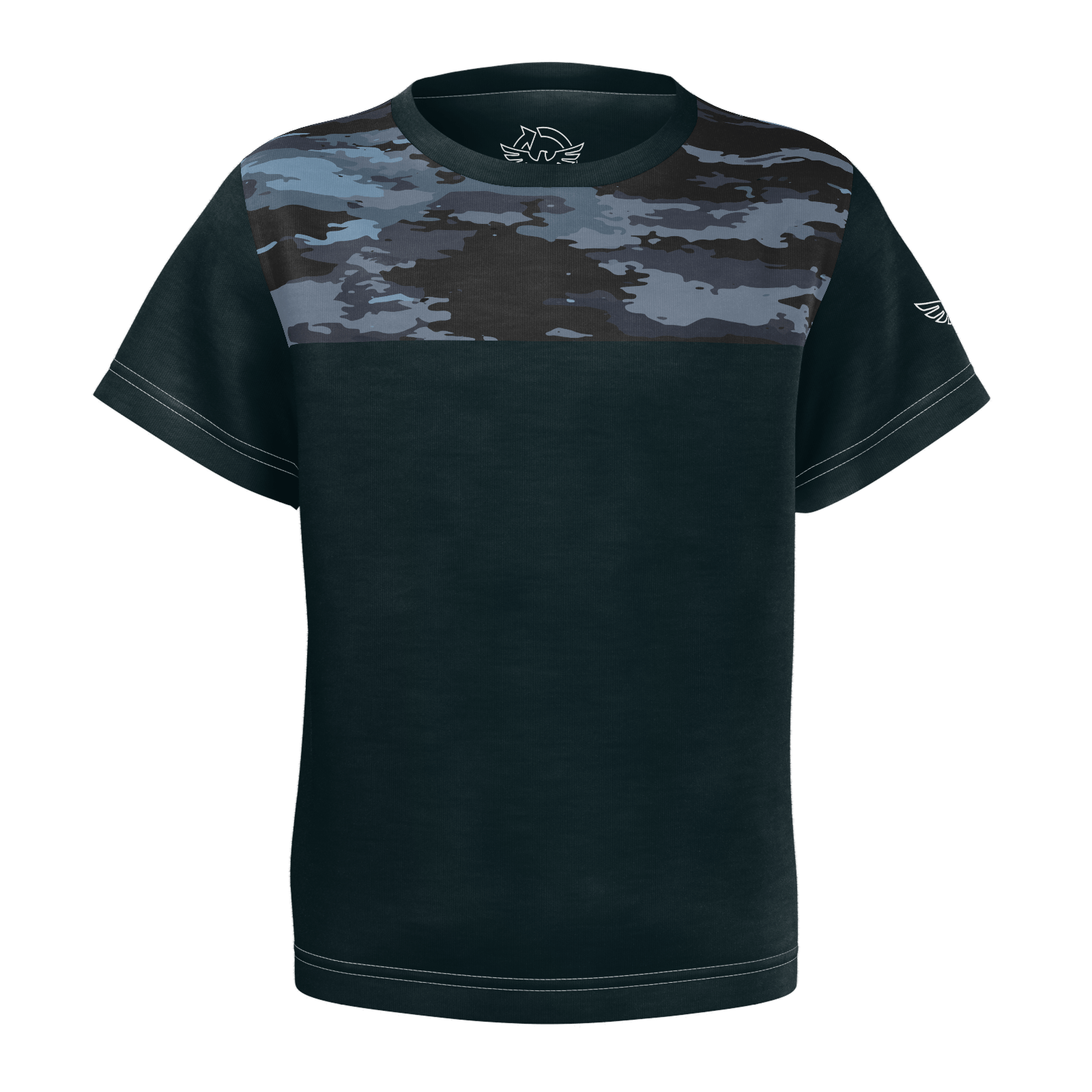Kids FYC Coast Camo Sustainable Short Sleeve Limited Edition Tee Shirt