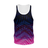 Men's Find Your Coast Sustainable Pink Striped Tank Top - Find Your Coast Supply Co.