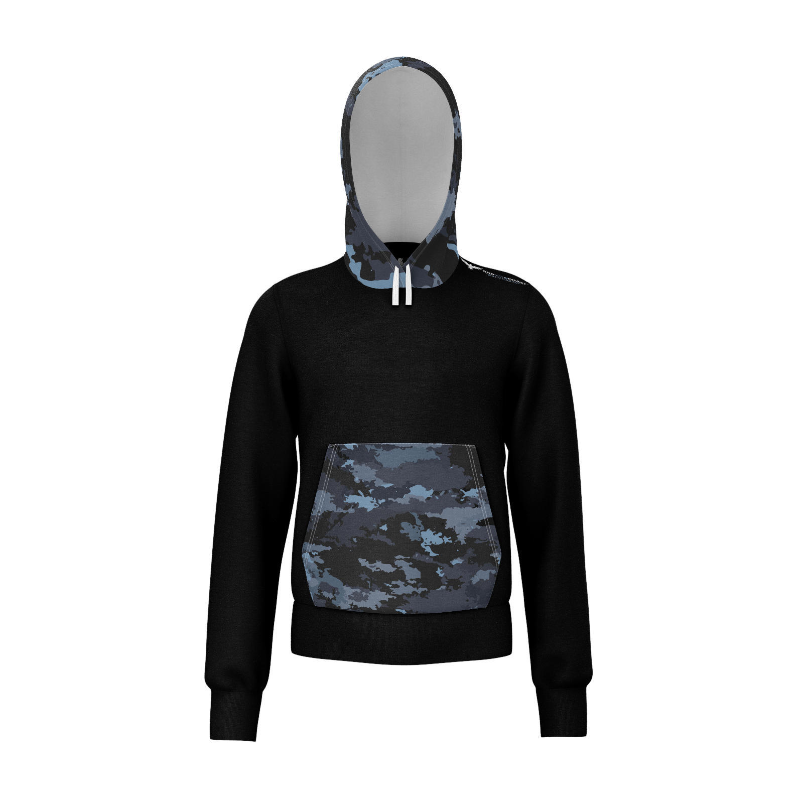 Kids Coast Camo Sustainable Lightweight Pullover Sweatshirt Hoodie - Find Your Coast Supply Co.