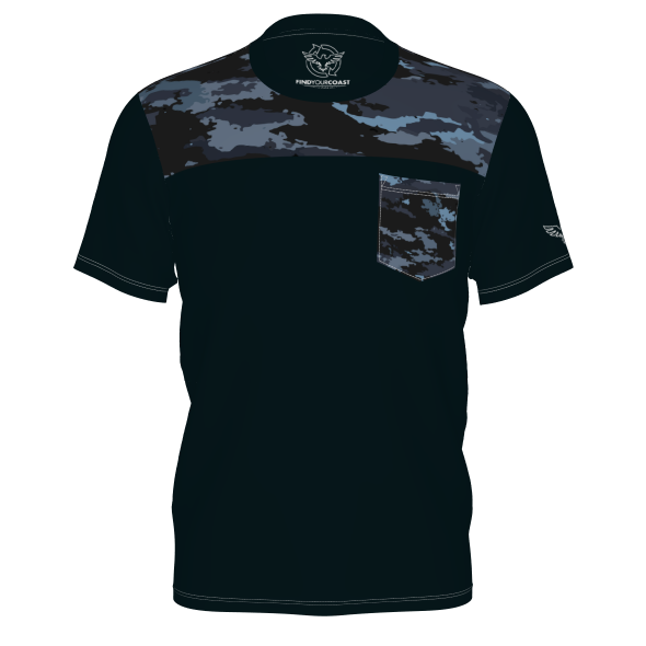 Men's FYC Coast Camo Sustainable Short Sleeve Limited Edition Tee Shirt - Find Your Coast Supply Co.