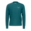 Men's Supply Co. Sustainable Solid Teal Long Sleeve Crewneck Sweatshirt - Find Your Coast Supply Co.