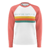 Women's Find Your Coast Adventure Supply Co. Lightweight Raglan Sweatshirt - Find Your Coast Supply Co.