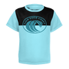 Toddler Find Your Coast Sustainable Short Sleeve Original Wave Tee Shirt - Find Your Coast Supply Co.