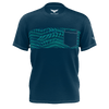 Men's Find Your Coast Lifestyle Bahama Breeze Recycled Knit Pocket Tee - Find Your Coast Supply Co.